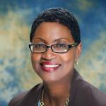 headshot of female TCC Alumni Board Member Susan James