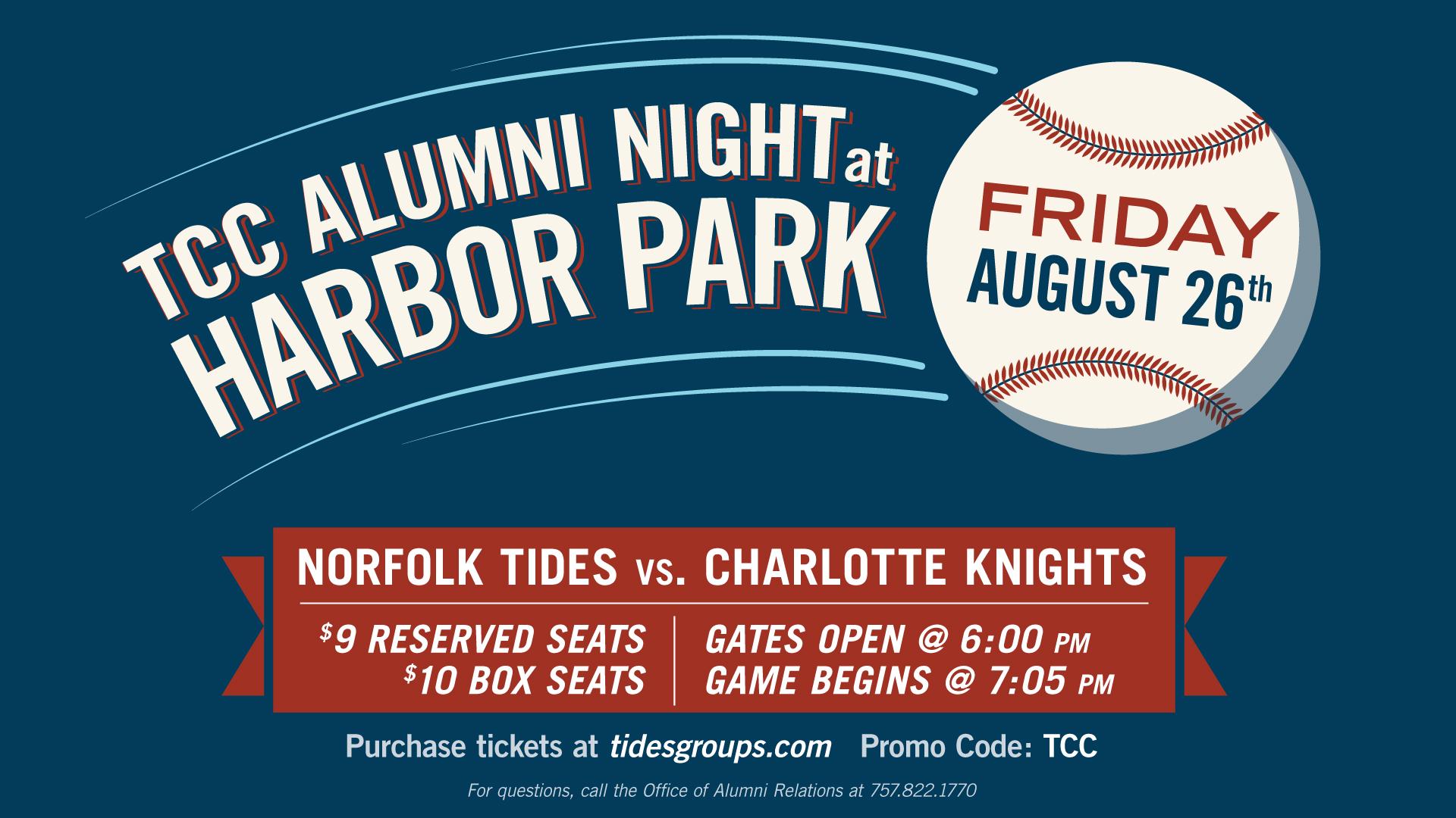 Alumni Night at Harbor Park
